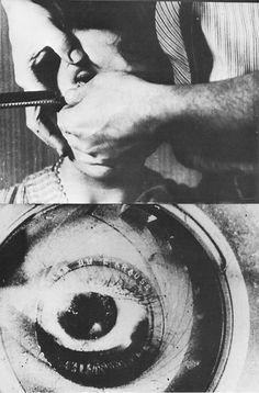 El Perro Andaluz. Luis Buñuel.