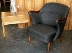 Danish Upholstered Armchair | 20th Century Scandinavia