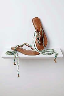 Embroidered Nilkantha Sandals-$68