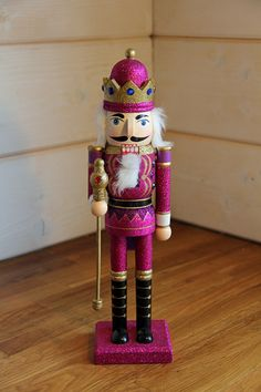 Glitter Nutcracker by Foo Foo La La by FooFooLaLaChild on Etsy, $39.00
