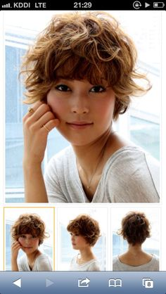 17 Short Layered Bob Haircuts Trending in 2019 - Style My Hairs Short Wavy Pixie, Curly Pixie Haircuts, Short Layered Bob Haircuts, Curly Hair Cuts, Pixie Hairstyles, Short Hair Cuts, Curly Hair Styles, Great Hair, Hair Today