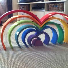 Uren speelplezier met de regenboog van grimms