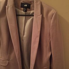 Blazer Brown blazer. Mint condition H&M Jackets & Coats Blazers