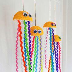 Cute hanging octopus.