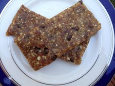 Cookie dough lara bars- excellent healthy snack. Tastes sweet, but has no added sugar-dates, chocolate chips, salt, nuts, and vanilla.