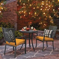 1000 images about ideas for my small patio on pinterest patio sets bistro set and small patio - Bistro sets for small spaces collection ...