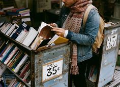 35 cent books?? Umm tell me where this is, please!