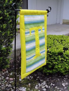 The Pursuit of Happiness: Summery Garden Flag