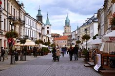 Lublin - one of the most beautiful and most underrated cities in Poland - in pictures Pretty Landscapes, Visit Poland, Places Worth Visiting, My Kind Of Town, Largest Countries, Central Europe, Rest Of The World, Old City, Eastern Europe