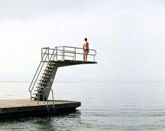 "Saatchi Art Artist jean-baptiste courtier; Photography, ""le plongeoir"" #art"