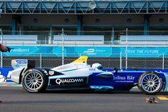 The chase: Formula E car vs drone