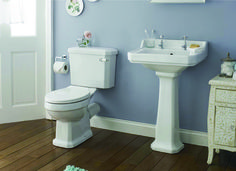 The Rockingham Suite has a timeless style with soft rich white lines making the suite stand out. This suite will bring an early Edwardian theme to any bathroom no matter what the size.