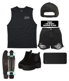 """Untitled #386"" by lame-spacemilk ❤ liked on Polyvore featuring Billabong, Topshop and Incase"