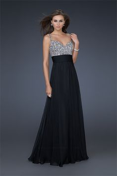 Black prom dress.....I don't think you can go wrong with this one!! <3 it