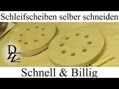 Schleifscheiben selber schneiden - Schnell & Billig - YouTube