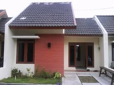 Best One Storey House Plans Idea One Storey House, Natural Landscaping, Small House Design, Facade House, Small House Plans, Types Of Houses, Architect Design, House Front, Little Houses