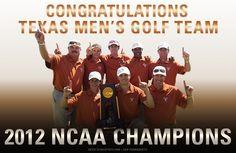 Men's Golf NCAA Champions