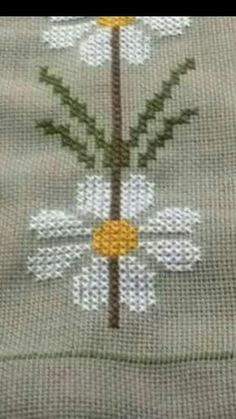 Discover thousands of images about İsim: Görüntüleme: 1478 Büyüklük: KB (Kilobyte) Funny Cross Stitch Patterns, Cross Stitch Borders, Cross Stitch Flowers, Cross Stitch Designs, Cross Stitching, Wool Embroidery, Cross Stitch Embroidery, Felt Christmas Ornaments, Quilling Designs