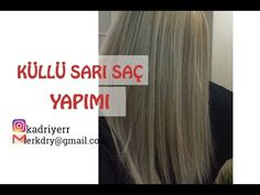 Küllü Sarı Saç Nasıl Yapılır - Sarı Küllü Cila - Kendin Yap (DIY) - YouTube Diy Sac, Diy Tops, Yellow Hair, Dyed Hair, Hair Care, Youtube, Long Hair Styles, Beauty, Beautiful
