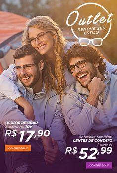 E-mail Marketing desenvolvido para o parceiro Óculos Shop da rede de varejo Ricardo Eletro. #glasses #design #webdesign #mkt