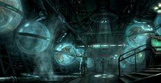 sci-fi environment  | Engine Used: Unreal Development Kit