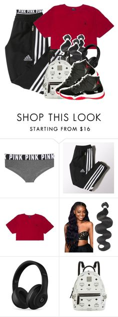 """""""it's yours """" by beauty-star-babydoll930 ❤ liked on Polyvore featuring Victoria's Secret, adidas, Beats by Dr. Dre, MCM and Retrò"""