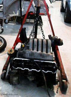engine working