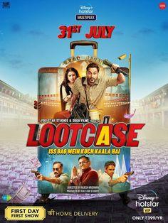 RELEASE DATE FINALIZED... #Lootcase to premiere on 31 July 2020 on #DisneyPlusHotstar... Stars #KunalKemmu, #RasikaDugal, #RanvirShorey, #VijayRaaz and #GajrajRao... Directed by Rajesh Krishnan... Poster... 2020 Movies, Comedy Movies, Hd Movies, Films, Movies Free, Watch Movies, Hindi Movies Online Free, Bollywood Movies Online, Bollywood Songs