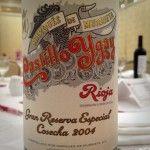 The 12 Wines of Christmas with @Rick Bakas Wine #10 2004 Marqués de Murrieta Castillo Ygay Gran Reserva Especial