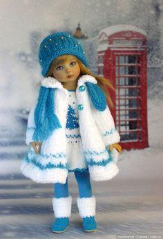 36 Ideas For Crochet Baby Doll Clothes Ideas Knitting Dolls Clothes, Baby Doll Clothes, Crochet Doll Clothes, Knitted Dolls, Doll Clothes Patterns, Crochet Dolls, Barbie Clothes, Crochet Baby, Sewing Patterns