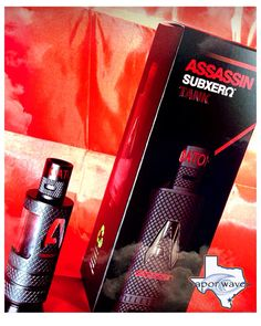 New assassin subzero tank!!! Heavy duty tank with around the glass protection!!! Come in today and pick one up!!!! #breatheinvapeout #newtank #heavyduty