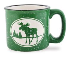 Camp Mug - Moose - green