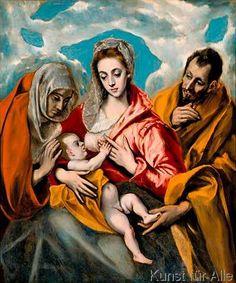 El+Greco+-+The+Holy+Family+with+Saint+Anna
