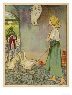 Willy Planck, The Goose Girl.