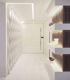 Bem vinda, segunda-feira! Uma semana abençoada se inicia! Hall de entrada by @maxmello.arquiteto #arquiteturasemlimites