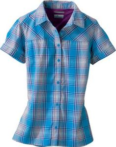 Cabela's: Columbia® Women's Kick Fix Plaid Short-Sleeve Shirt