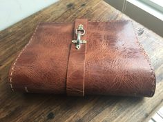 Griffith Binder / Leather 3 Ring Binders / by LUSCIOUSLEATHERNYC