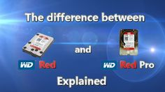The difference between WD Red and WD Red PRO explained Different, Let It Be, The Originals, Storage, Red, Purse Storage, Larger, Store