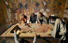 Tumba del faraón Tutankamon.