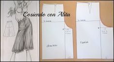 Cosiendo con Alita: FALDA PANTALON Alita Movie, Skirt Pants, Pattern Paper, Sewing Patterns, Formal Dresses, Jeans, Skirts, Fashion, Modeling