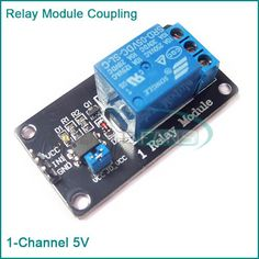 One 1 Channel Isolated 5V Relay Module Coupling For Arduino PIC AVR DSP ARM      This is a 5V 1-Channel Relay interface board, be able to control various appliances, and other equipment with large current. It can be controlled directly by Micro-controller (8051, AVR, PIC, DSP, ARM, ARM, MSP430, TTL logic). 5V 1-Channel ...    US $1.38  #shopaholic #dailydeals