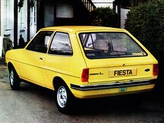 Ford Fiesta 1976-1981 vue AR - photo Ford   Auto Forever