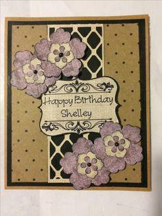 Birthday card. February 2017.