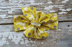 Headwrap  Baby Headwrap  Yellow White by TrueNorthClothingC