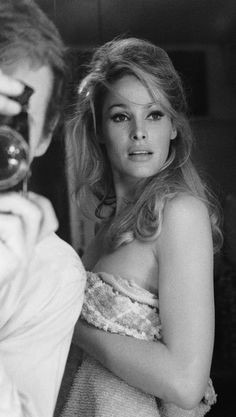 Ursula Andress - 1965 by Terry O'Neill