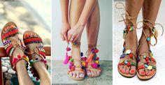 The Coolest Summer Sandals by Elina Linardaki   sheerluxe.com