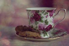 Flower printed cup