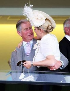 Zara and her uncle, Prince Charles. In fact, it was Charles who suggested the name Zara to his sister, Princess Anne.