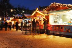 Christmas shopping spots in Edinburgh