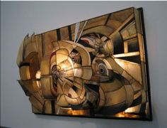 Sculpture by Lee Bontecou
